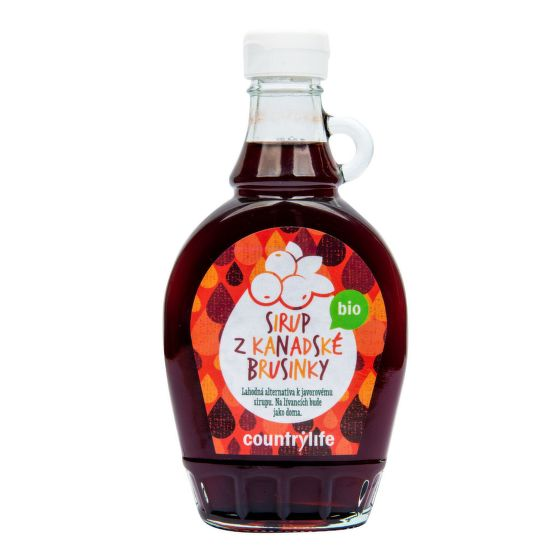 Sirup brusnicový 250 ml BIO   COUNTRY LIFE