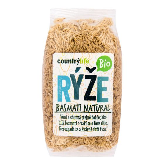Ryža basmati natural 500 g BIO   COUNTRY LIFE