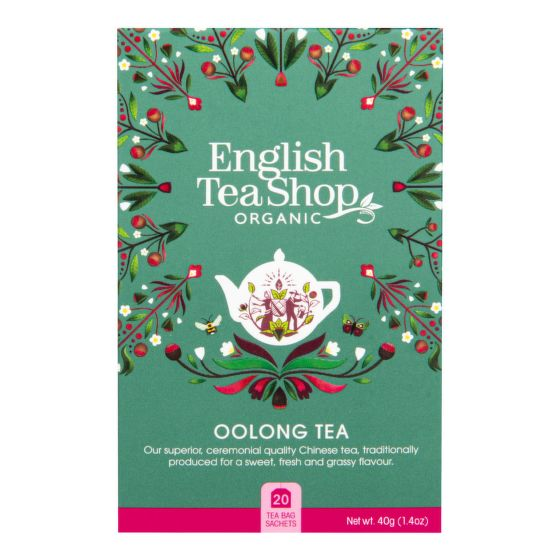 Čaj Oolong 20 vrecúšok BIO   ENGLISH TEA SHOP