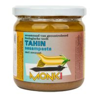 Tahini so soľou 330 g BIO   MONKI